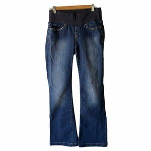 Gap 1969 long and lean maternity jeans